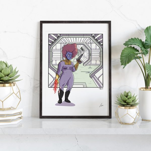 framed print of Pthalo by Ben Stokes